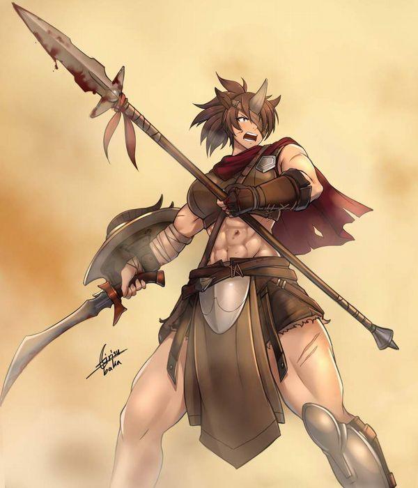 【防御力に一抹の不安】露出の多い格好してる女剣士達の二次エロ画像【37】