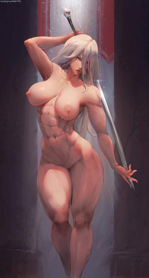 【防御力に一抹の不安】露出の多い格好してる女剣士達の二次エロ画像【39】