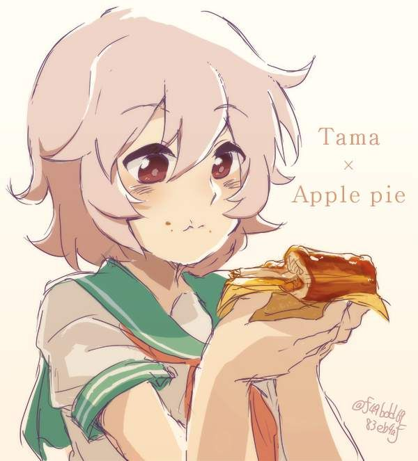 【おいパイ食わねぇか】アップルパイと美少女の二次画像【23】