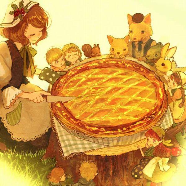 【おいパイ食わねぇか】アップルパイと美少女の二次画像【24】