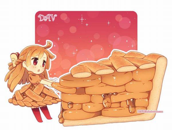【おいパイ食わねぇか】アップルパイと美少女の二次画像【34】
