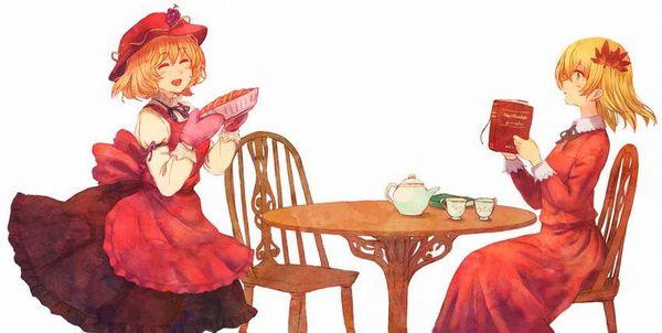 【おいパイ食わねぇか】アップルパイと美少女の二次画像【39】