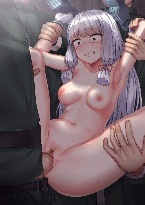 【順番待ち】両手を別の男に抑えられつつレイプされてる二次エロ画像【4】