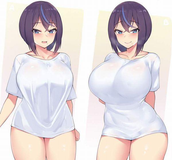 【リアルな女子の部屋着】上はTシャツ下はパンツみたいな格好してる女子達のエロ画像【18】