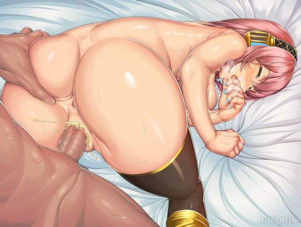 【アナルがオカズ】女子の肛門を愛でつつバックでパンパン突いてる二次エロ画像【8】