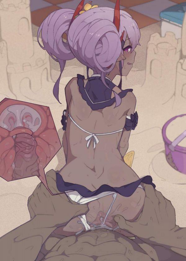 【アナルがオカズ】女子の肛門を愛でつつバックでパンパン突いてる二次エロ画像【14】