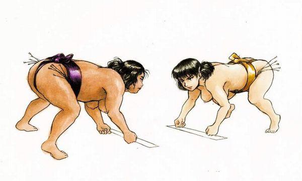 【どす恋】まわし着けてる女相撲取り達の二次エロ画像【11】