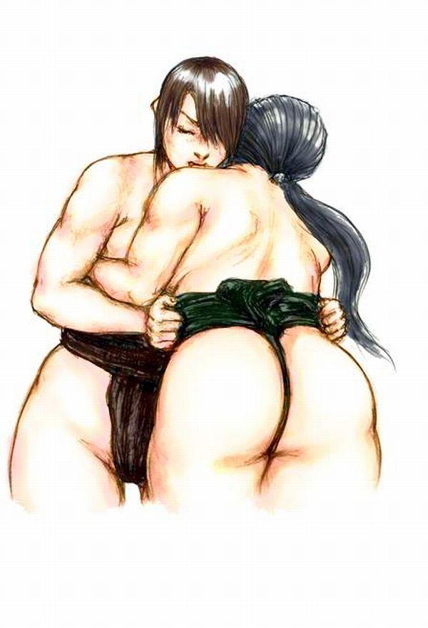 【どす恋】まわし着けてる女相撲取り達の二次エロ画像【31】