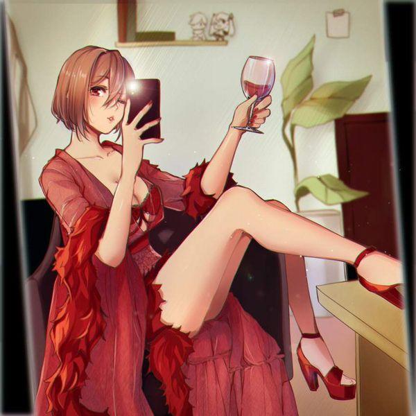 【ルネッサンス】ワイングラスを手にした女子達の二次画像【12】