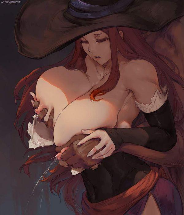 【母乳デリの基本プレイ】男に母乳を搾られてる二次エロ画像【29】