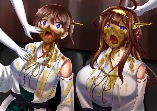 【これが珍味なんだよぉ!】ウンコ食わされてる女子達の二次エロ画像【14】