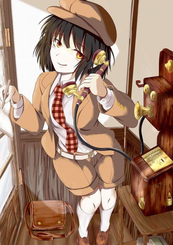 【過去の遺物】電話ボックスを使う女子達の二次エロ画像【27】