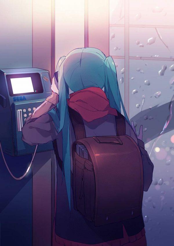 【過去の遺物】電話ボックスを使う女子達の二次エロ画像【29】