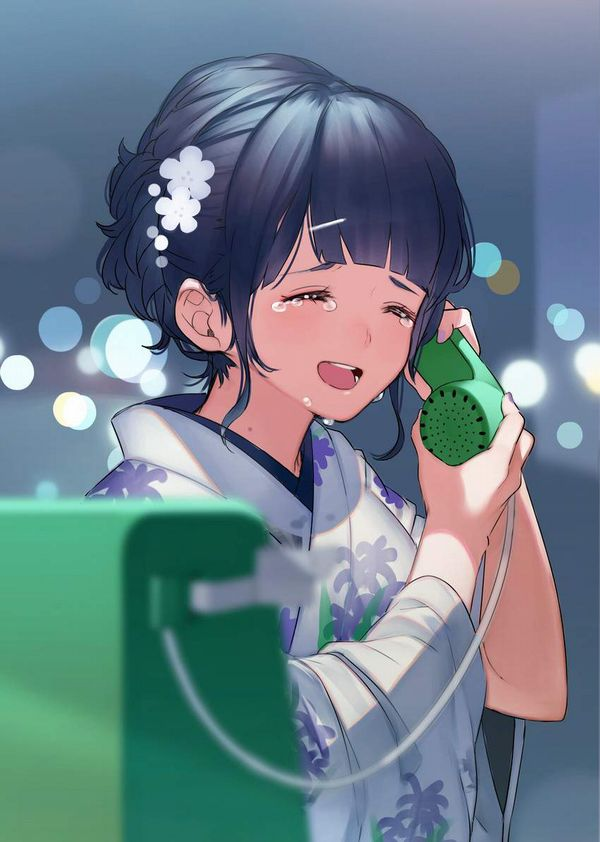 【過去の遺物】電話ボックスを使う女子達の二次エロ画像【37】