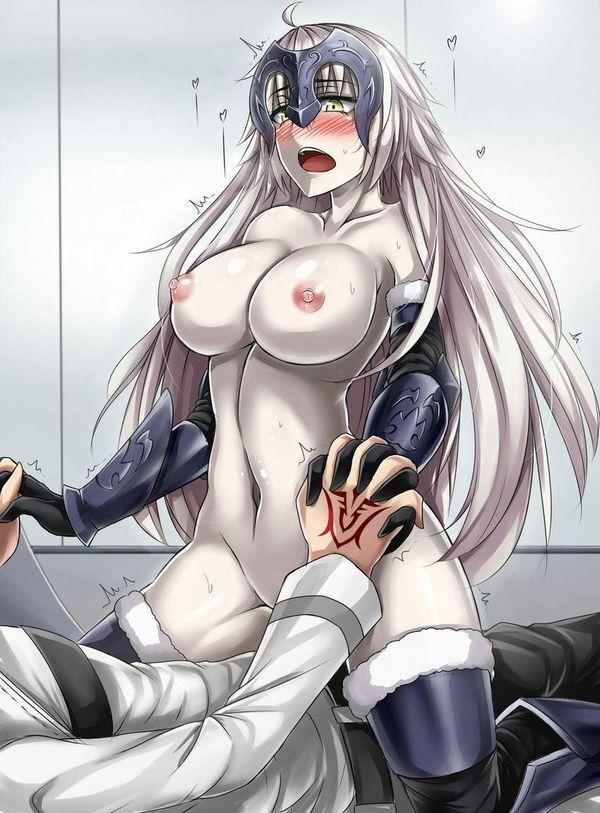 【邪魔じゃない?】鎧とか甲冑とかつけたままセックスしてる二次エロ画像【13】