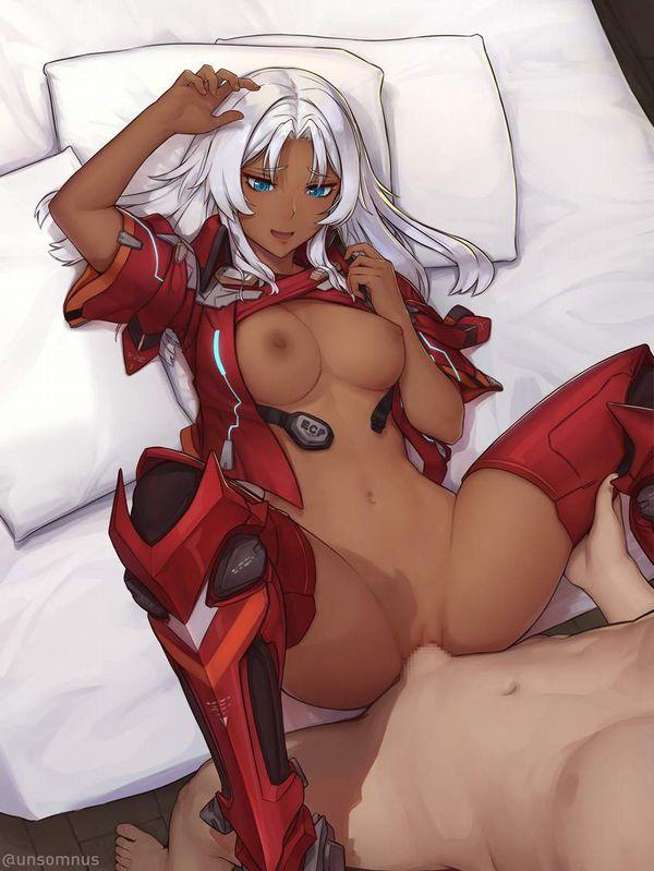 【邪魔じゃない?】鎧とか甲冑とかつけたままセックスしてる二次エロ画像【15】