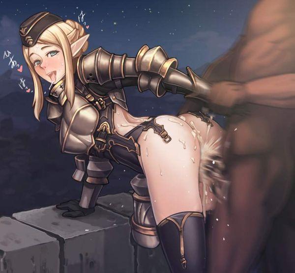 【邪魔じゃない?】鎧とか甲冑とかつけたままセックスしてる二次エロ画像【16】