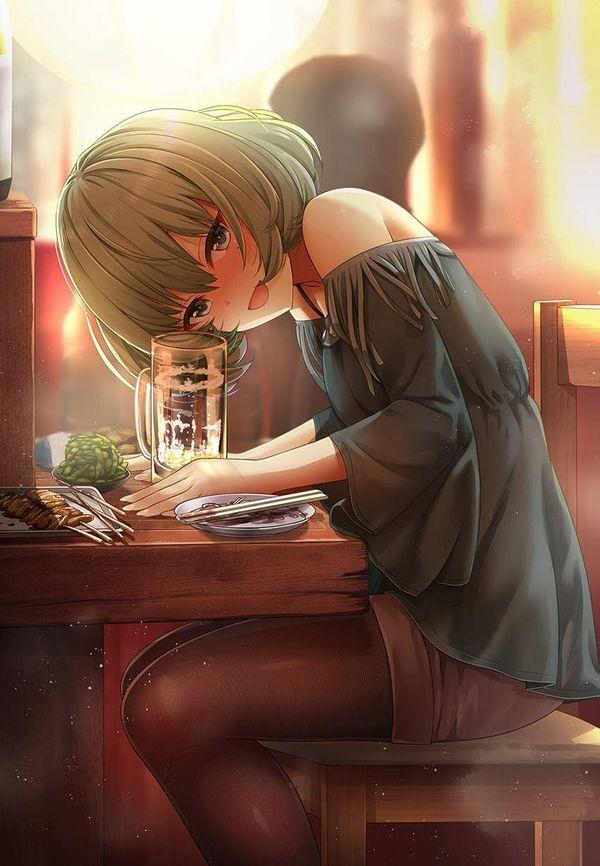 【オンラインじゃない飲み会】居酒屋でお酒飲んでる女子達の二次画像【5】