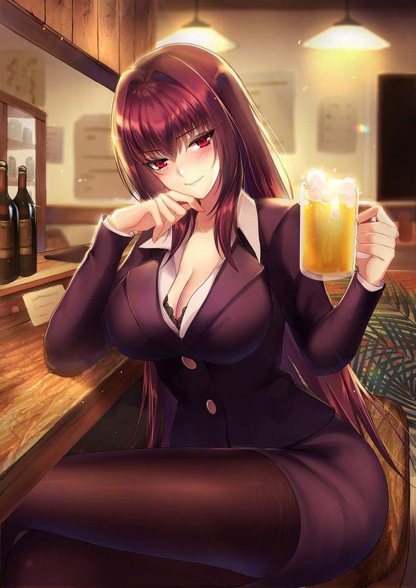 【オンラインじゃない飲み会】居酒屋でお酒飲んでる女子達の二次画像【24】