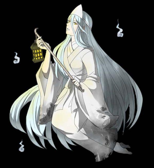 【伝統スタイル】額に三角のアレをつけた女幽霊の二次エロ画像【6】