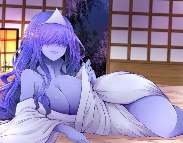 【伝統スタイル】額に三角のアレをつけた女幽霊の二次エロ画像【8】