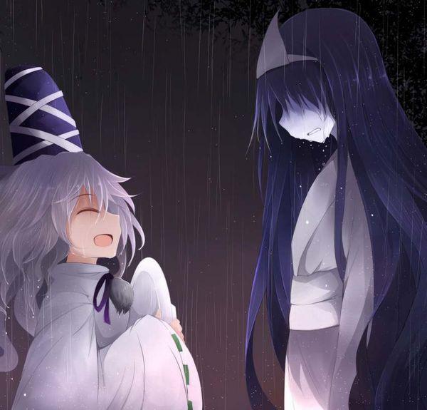 【伝統スタイル】額に三角のアレをつけた女幽霊の二次エロ画像【22】