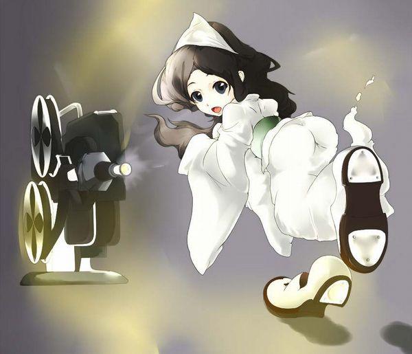【伝統スタイル】額に三角のアレをつけた女幽霊の二次エロ画像【27】