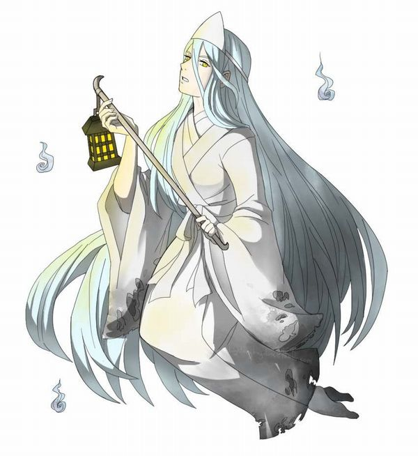 【伝統スタイル】額に三角のアレをつけた女幽霊の二次エロ画像【38】