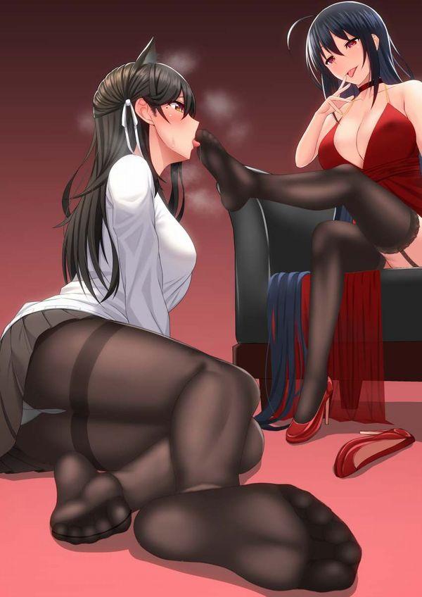 【完全な主従関係】女の子の足を舐める女の子の二次エロ画像【27】