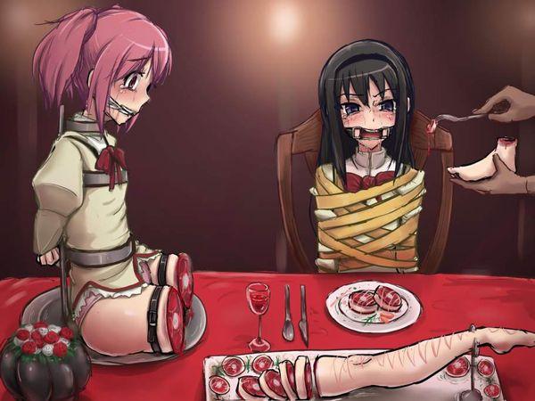 【現代的カニバリズム】食材としておいしく調理された女子達の二次エログロ画像【16】