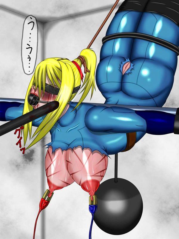 【尊厳破壊】おっぱいや乳首に拷問されてる二次リョナ画像【23】