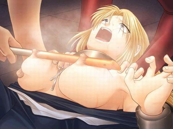 【尊厳破壊】おっぱいや乳首に拷問されてる二次リョナ画像【32】