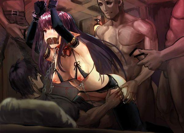 【尊厳破壊】おっぱいや乳首に拷問されてる二次リョナ画像【40】
