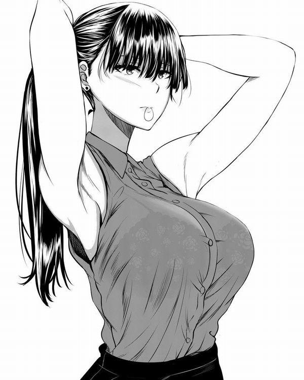 【夏OLの装い】ノースリーブシャツを着た女子達の二次エロ画像【21】
