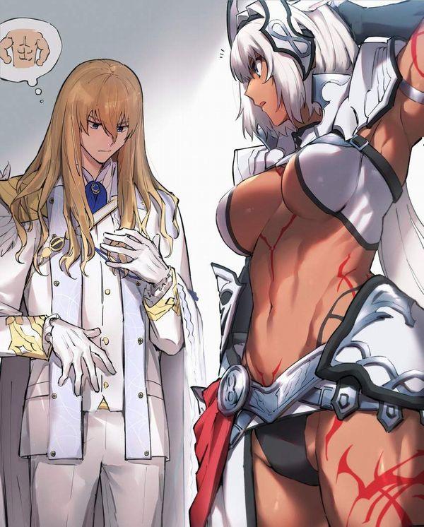 【Fate/GrandOrder】カイニス(Caenis)のエロ画像【20】