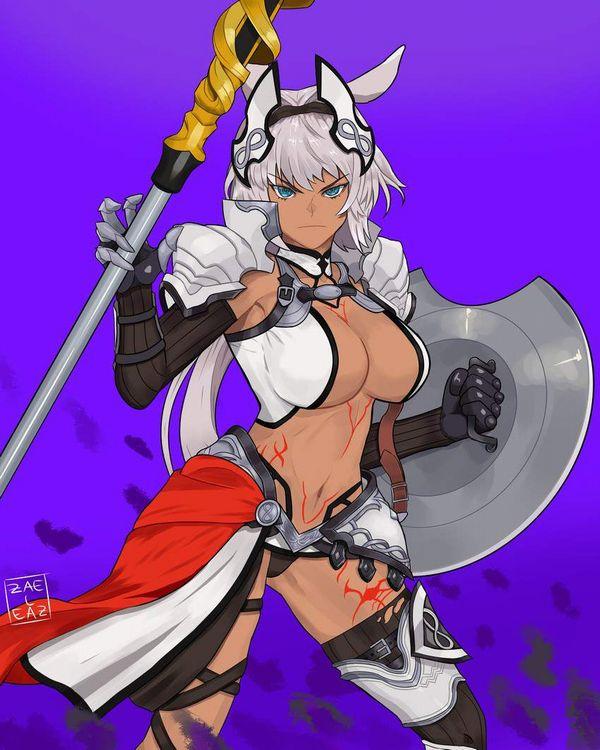 【Fate/GrandOrder】カイニス(Caenis)のエロ画像【24】