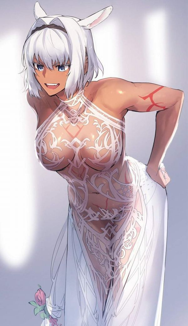 【Fate/GrandOrder】カイニス(Caenis)のエロ画像【30】