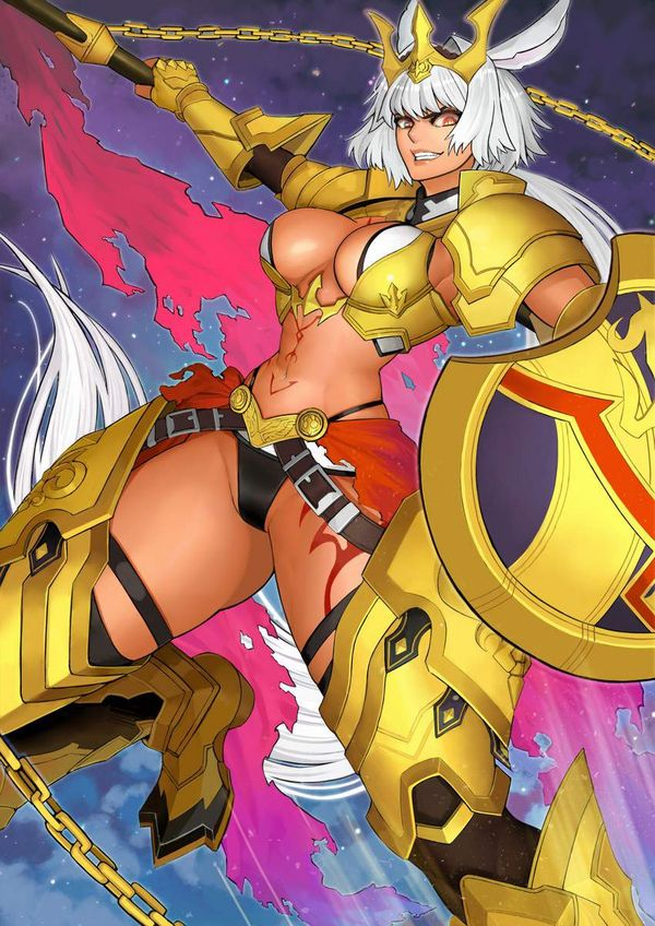 【Fate/GrandOrder】カイニス(Caenis)のエロ画像【31】