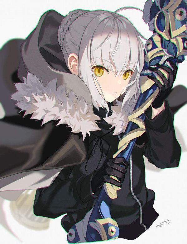 【Fate/GrandOrder】グレイ(Gray)のエロ画像【ロード・エルメロイⅡ世の事件簿】【20】