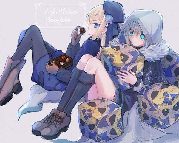 【Fate/GrandOrder】グレイ(Gray)のエロ画像【ロード・エルメロイⅡ世の事件簿】【45】