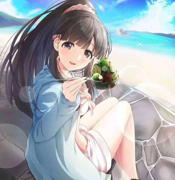 【正に夏】カキ氷と水着女子の二次エロ画像【23】