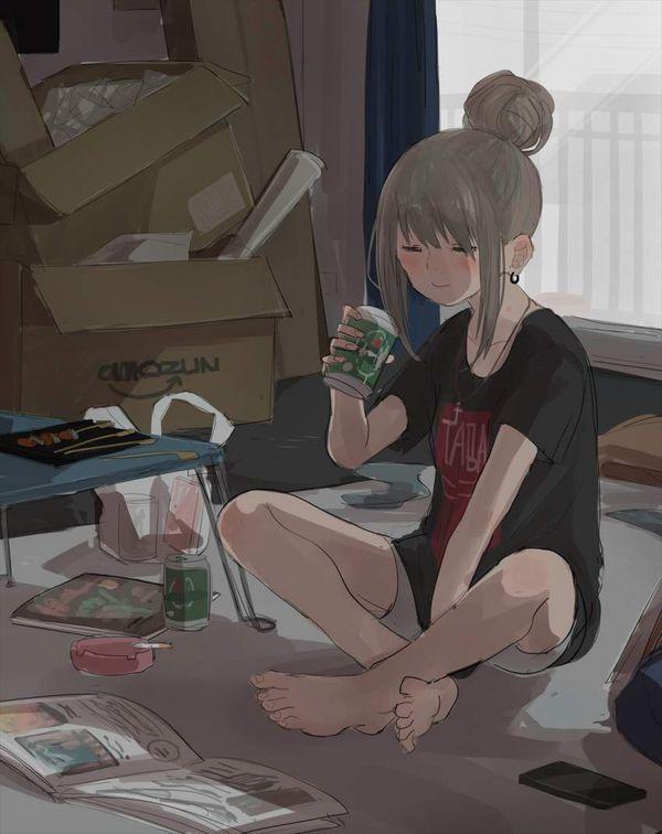 【新橋の女は】酒とタバコを嗜むやさぐれ系女子の二次画像【宝くじしか買わねえ】【5】