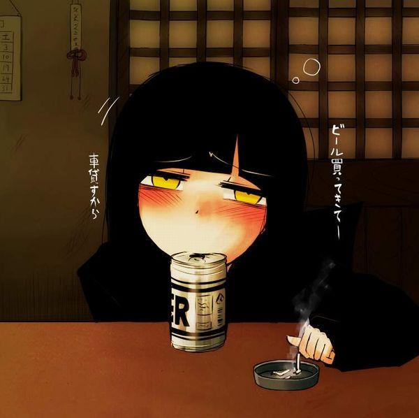【新橋の女は】酒とタバコを嗜むやさぐれ系女子の二次画像【宝くじしか買わねえ】【19】