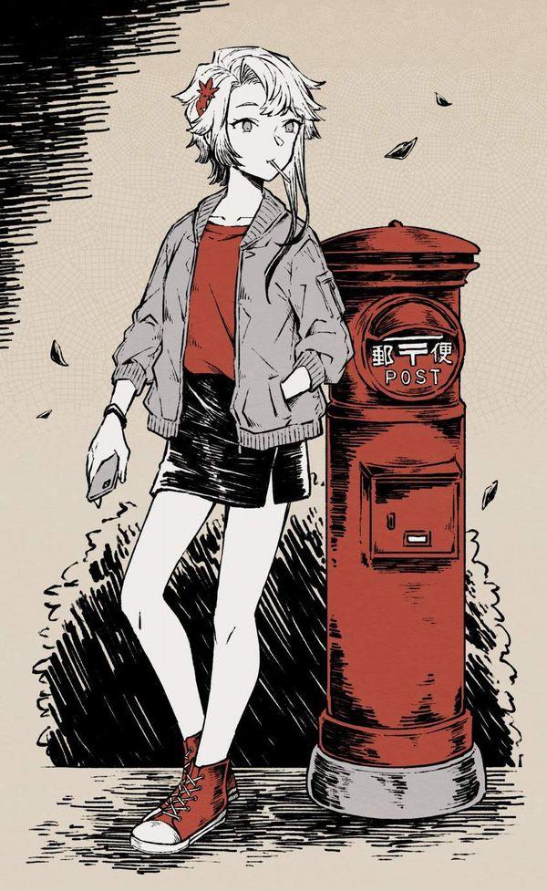 【永遠の定番】コンバースのオールスター履いてる女子達の二次画像【14】