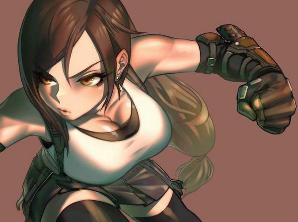 【かっこいい】拳で抵抗しそうな女子達の二次画像【9】
