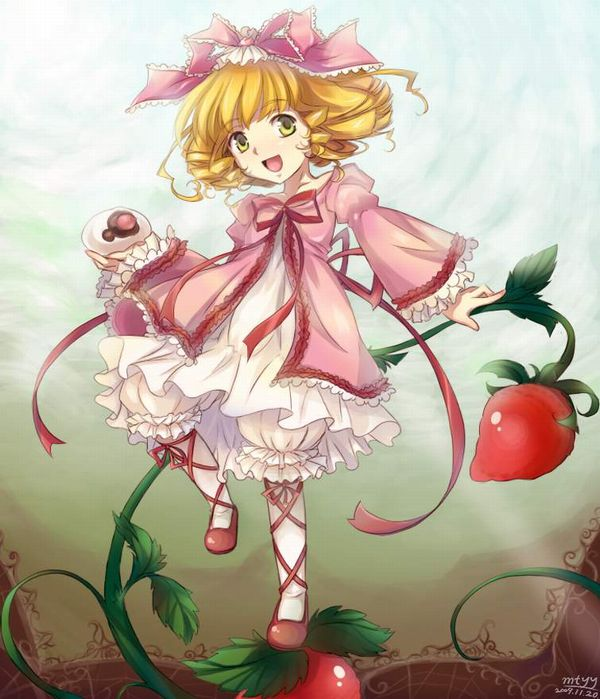【ローゼンメイデン】雛苺(ひないちご)のエロ画像【12】