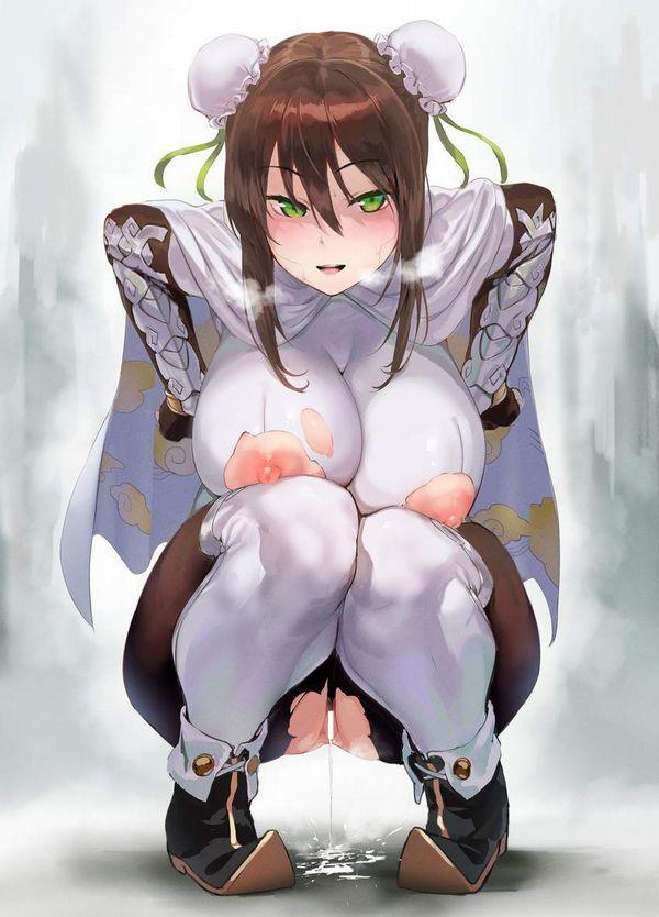 【授乳用かな?】乳首のところだけ穴が開いてる洋服の二次エロ画像【12】