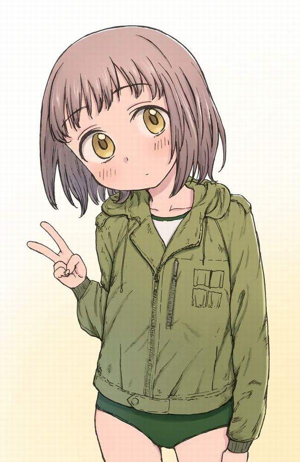 【グリーンダヨ!!】緑ブルマの二次エロ画像【13】