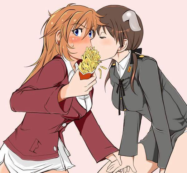 【前菜】女子がイモ食ってる二次画像【11】