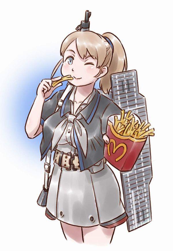【前菜】女子がイモ食ってる二次画像【24】